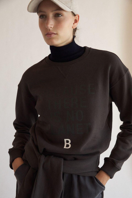 Llanes Because Woman Sweatshirt