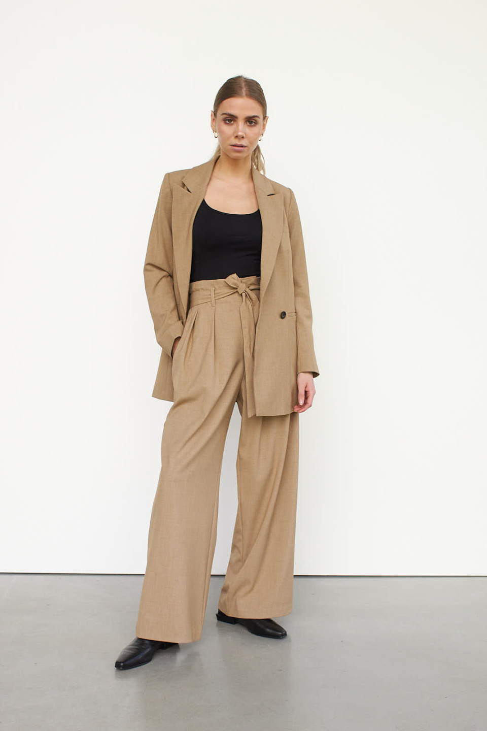 WBLRUBY BELTED TRS PANT