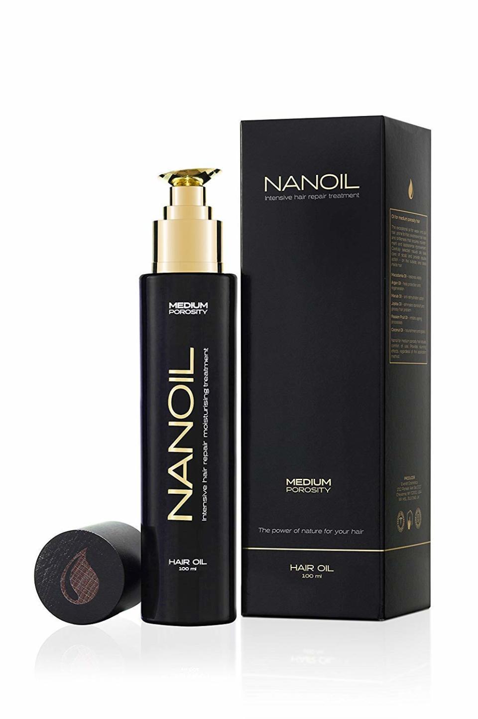 Haaröl Nanoil für normale Porosität