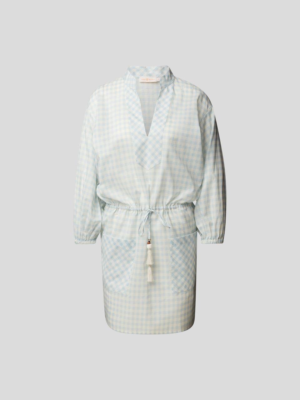 Tunikakleid mit Vichy-Karo