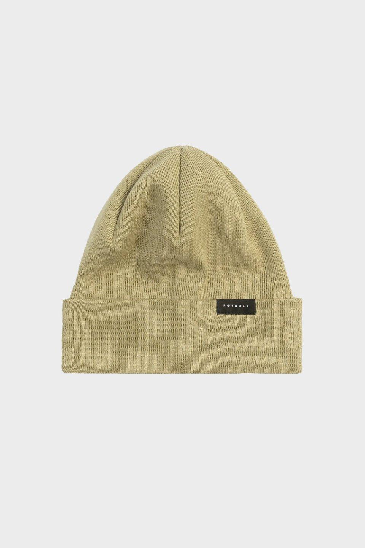 Klassische Mütze Baumwolle Fein Oliv