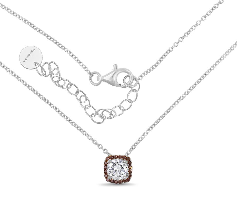 Necklace LEANDRA - mocha