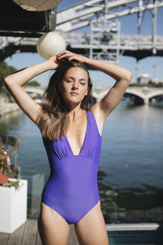 One Piece Swimsuit – Indigo Purple