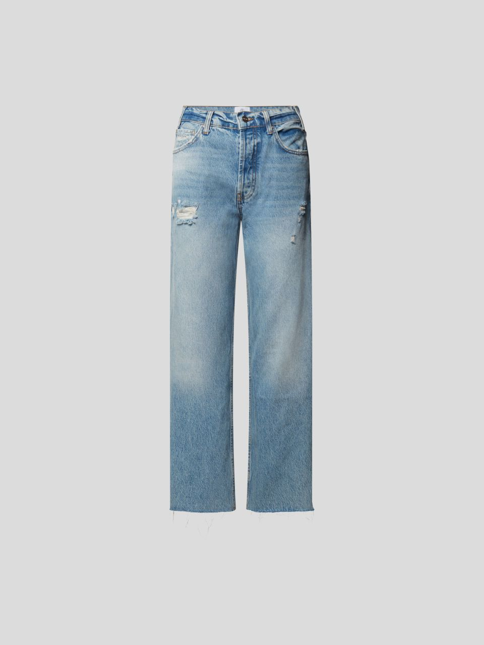 Mid Rise Jeans im Relaxed Straight Fit