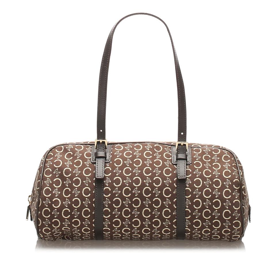 C Macadam Canvas Handbag