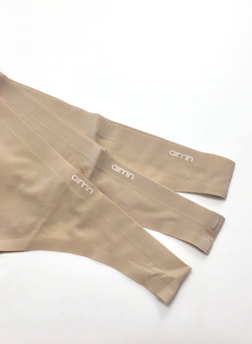 Nude Invisible Thong 3-PACK
