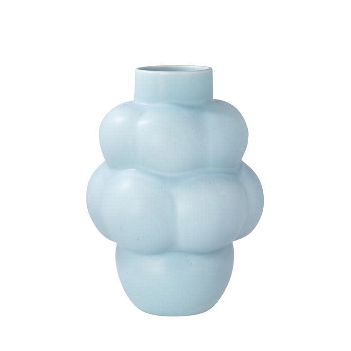 Balloon Ceramic Vase 04 Sky Blue