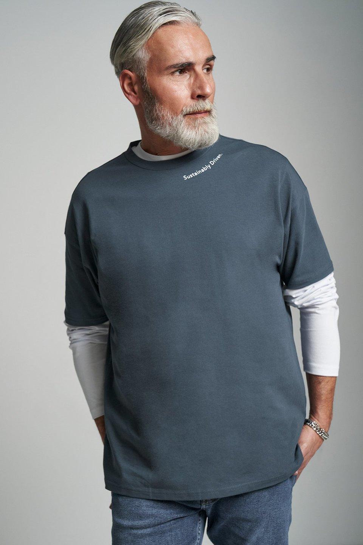 Sustainably Driven Oversized T-Shirt
