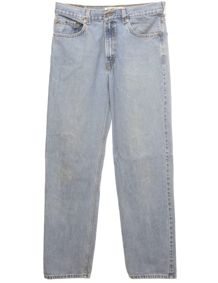 Straight Leg Levis 550 Jeans - W34