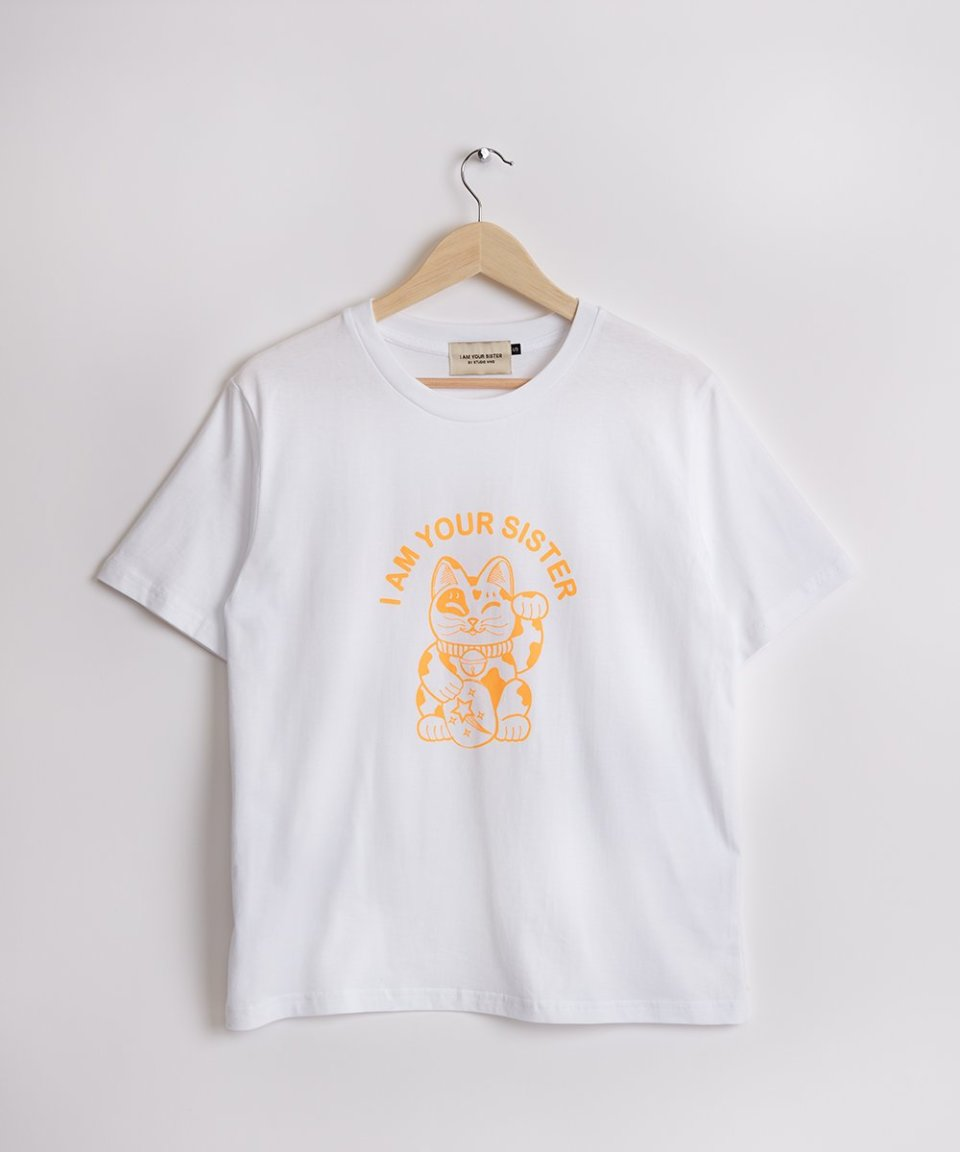 Lucky Cat Tee - limited quantities