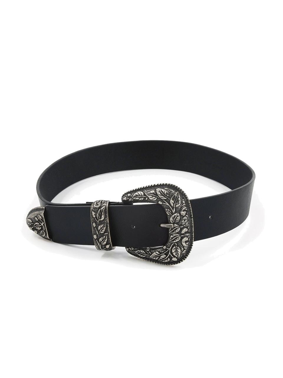 Vegan Belt Lia Brass Silver