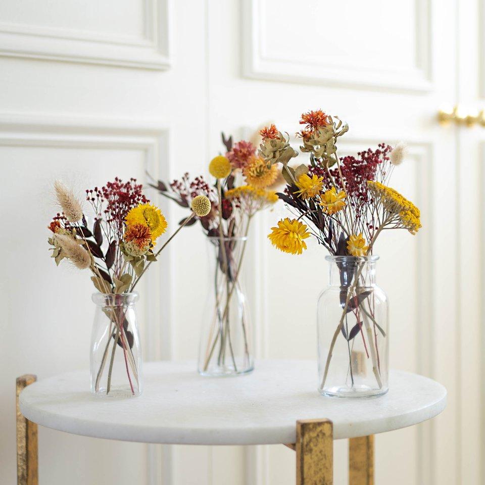 Fallen Leaves Jars - Dried Flowers