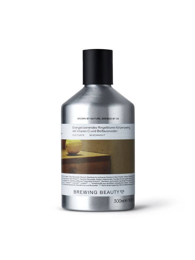 Energising Calendula Body Scrub with Vitamin C and Bioflavonoids