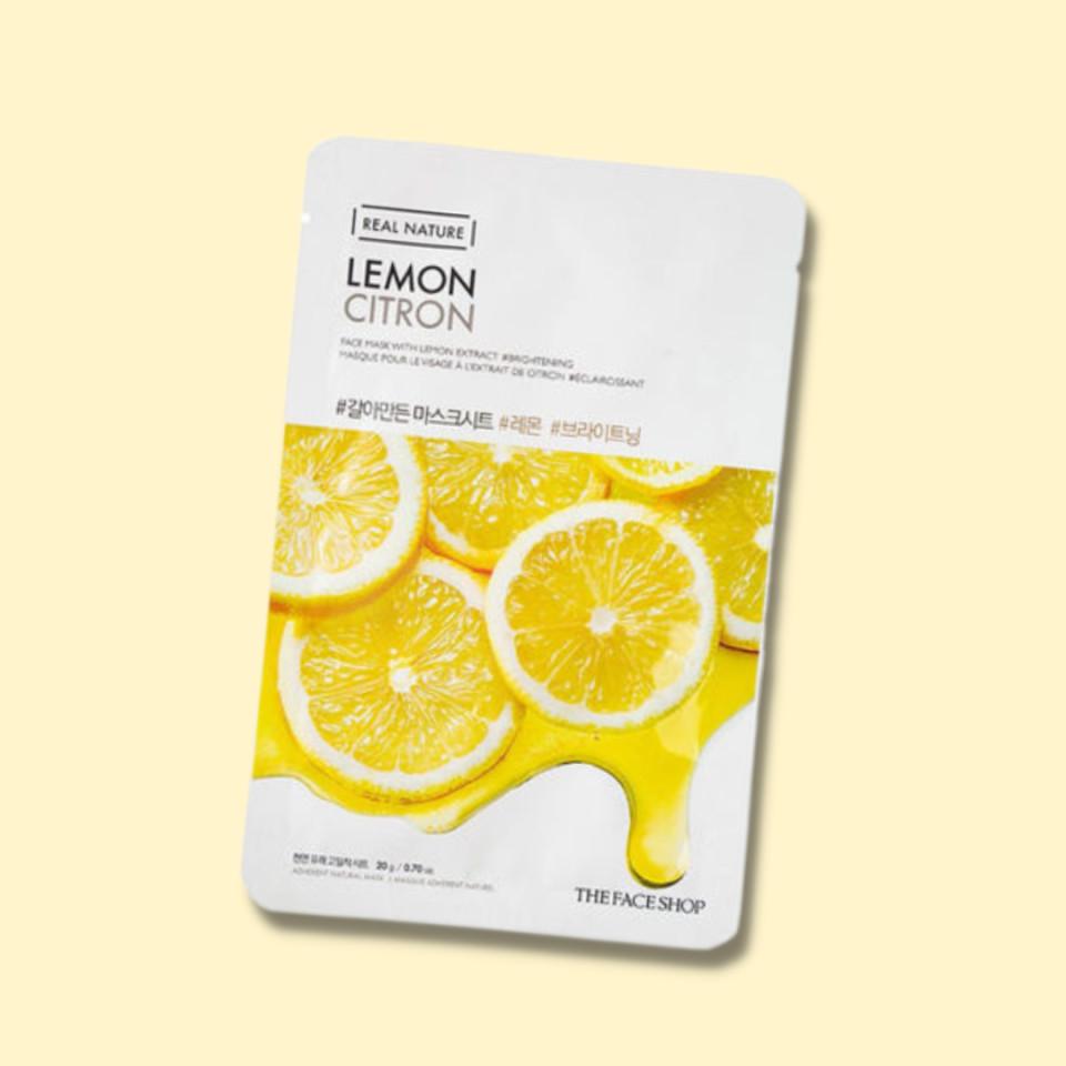 THE FACE SHOP REAL NATURE Mask Lemon