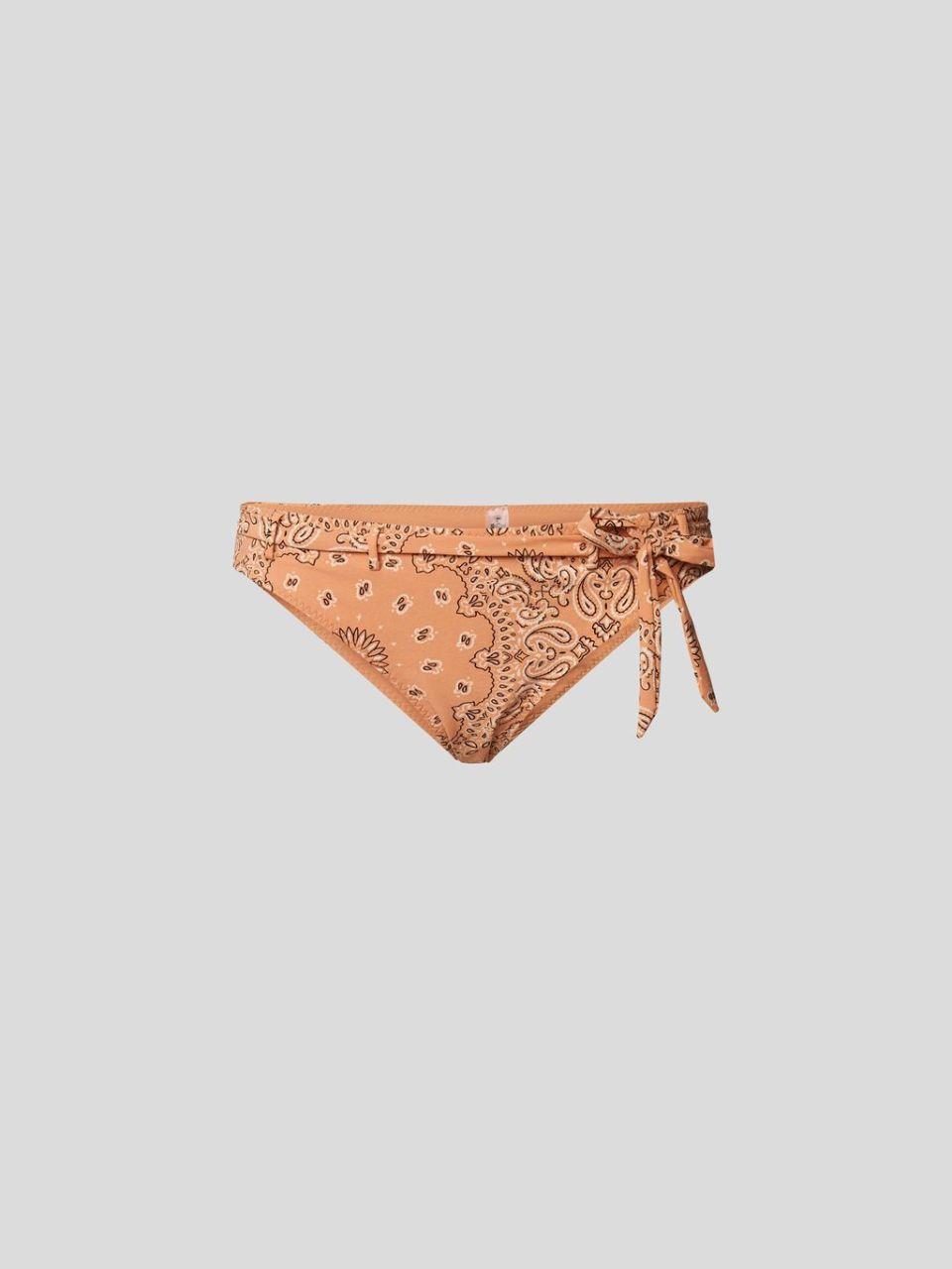 Bikini-Hose mit Paisley-Muster