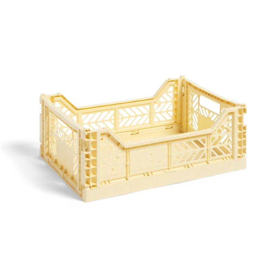 Colour Crate M 30 x 40cm - Light yellow