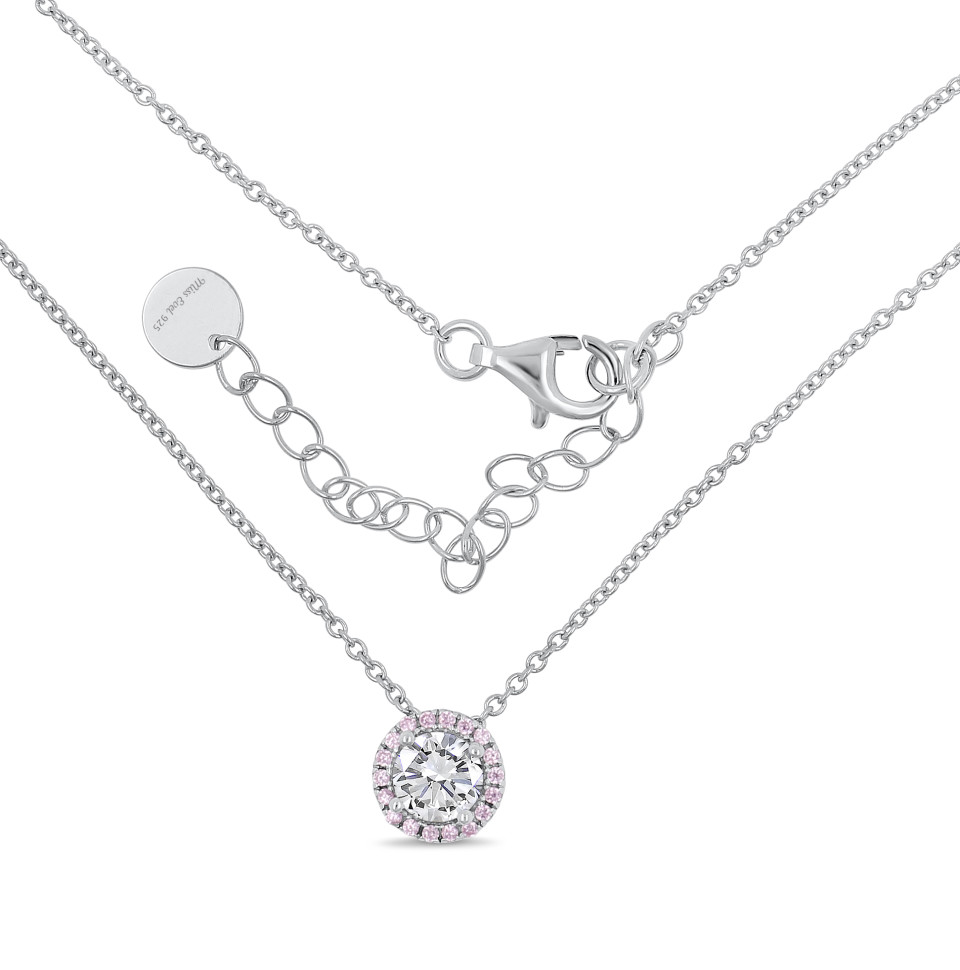 Necklace CHIARA - pink