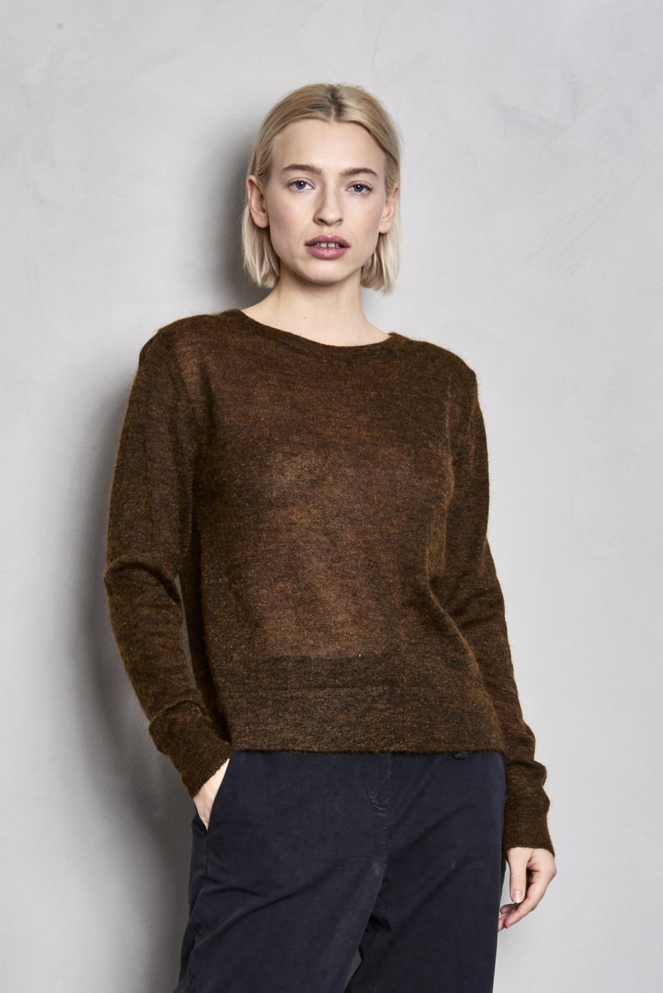 Alsu Silk Mohair Sweater - Bronze