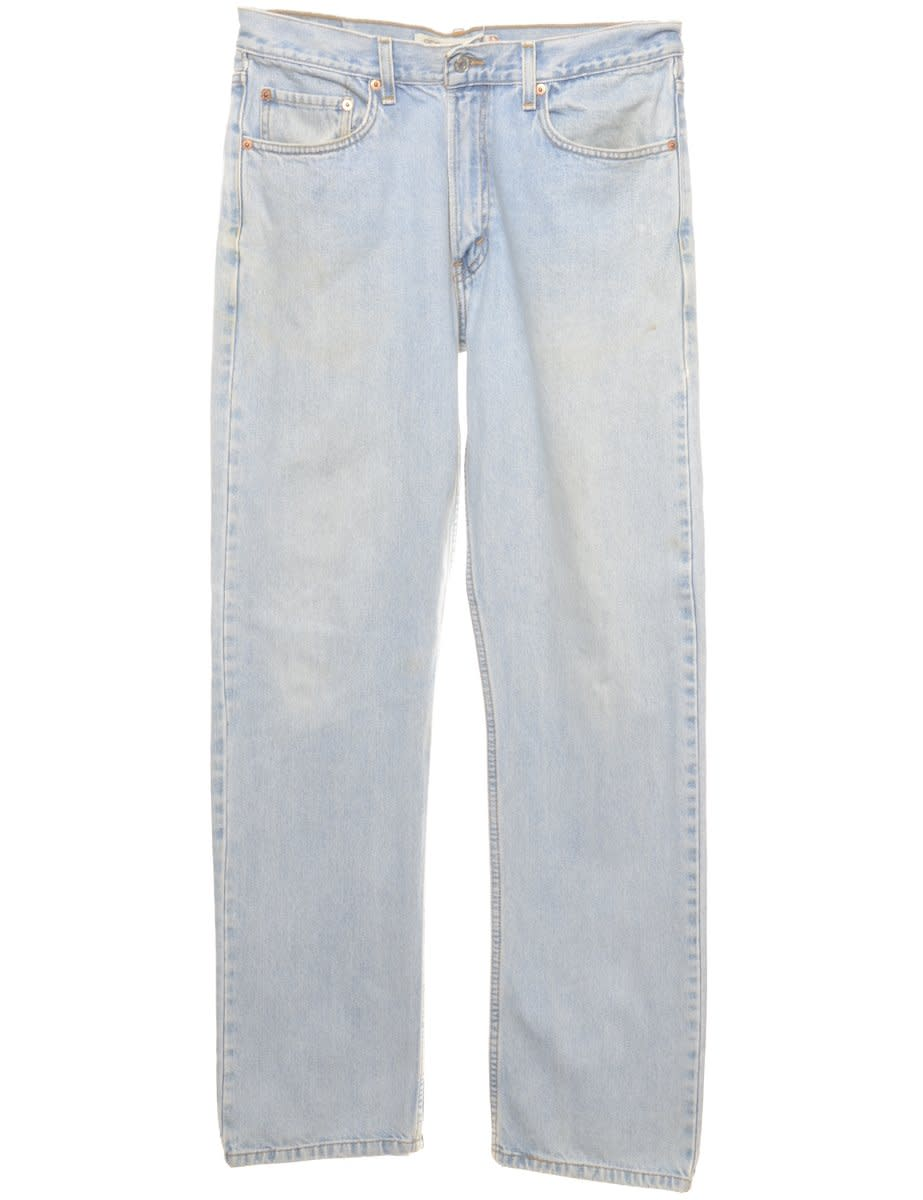 Straight Leg Levis 505 Jeans - W34