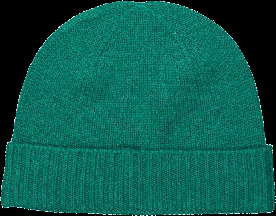 Ru Cashmere Beanie - Leaf Green
