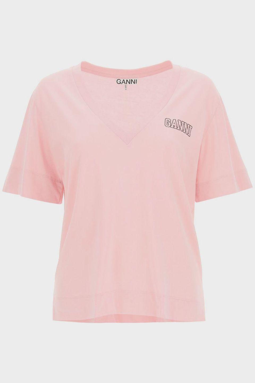 Ganni Isoli Software T-shirt