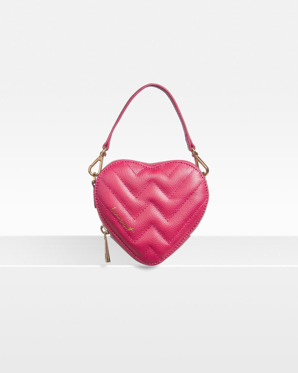 Mini Heart Bag Berry