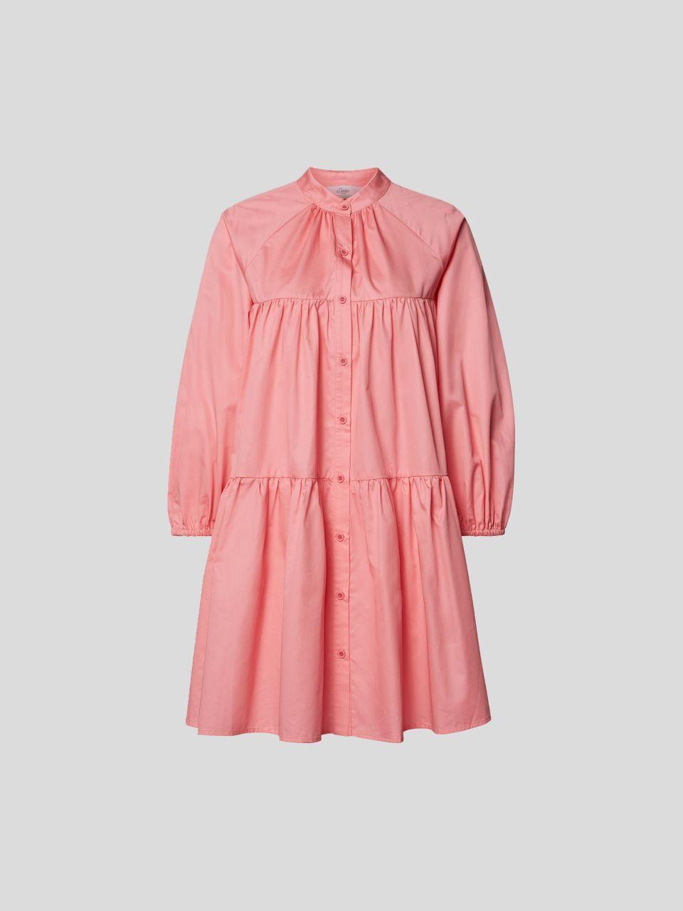Blusenkleid in Minilänge