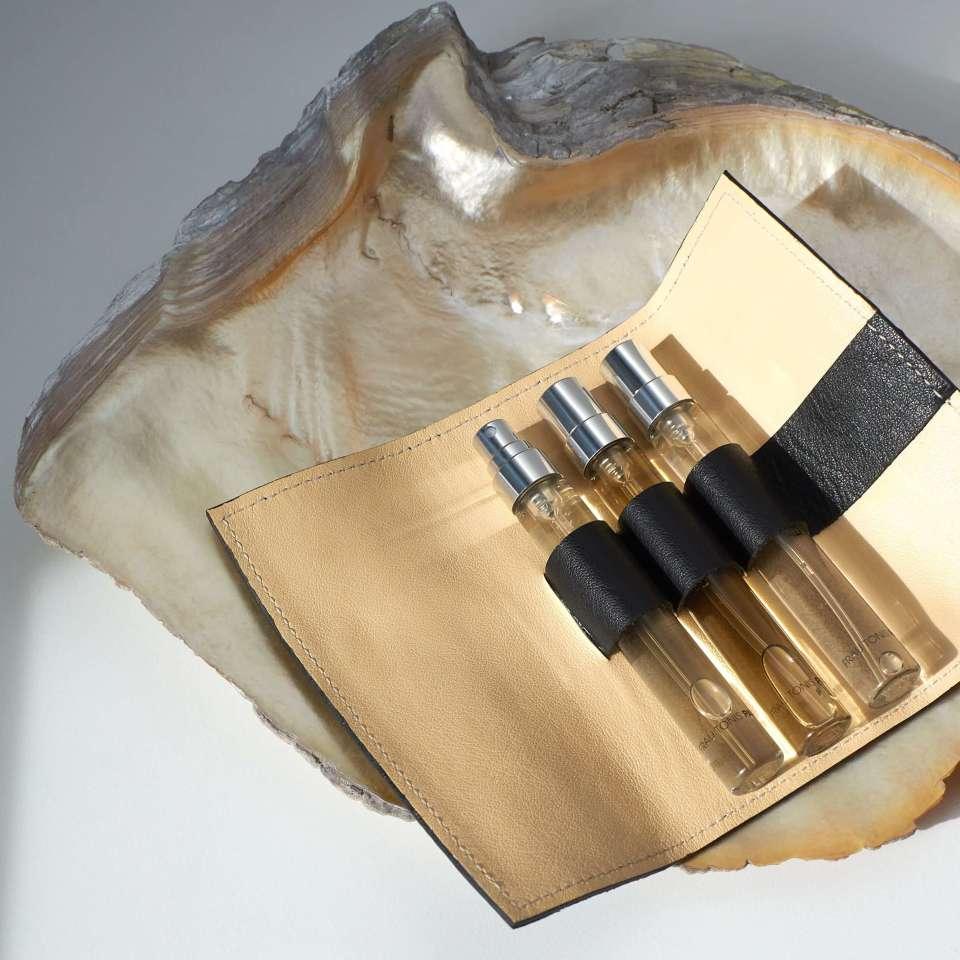"Parfum-Etui ""CASE"" Black inkl. ""Duftset Gentlemen"" 3x7,5ml EdP"