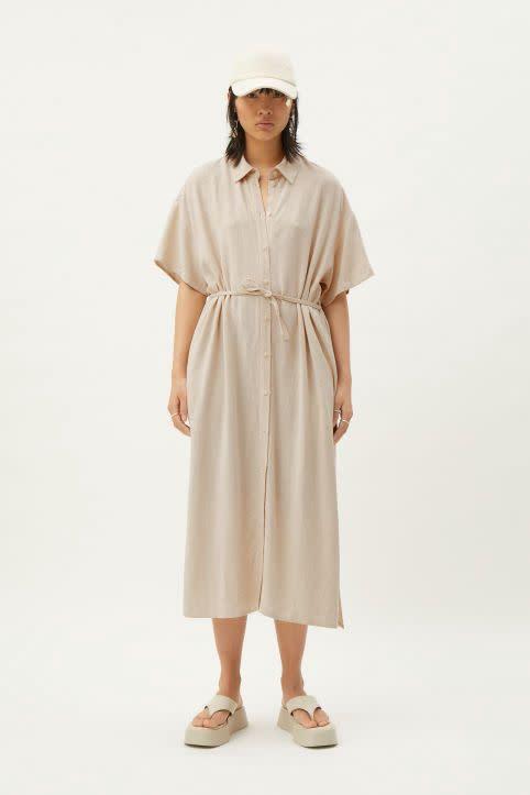 Corinna Linen Dress