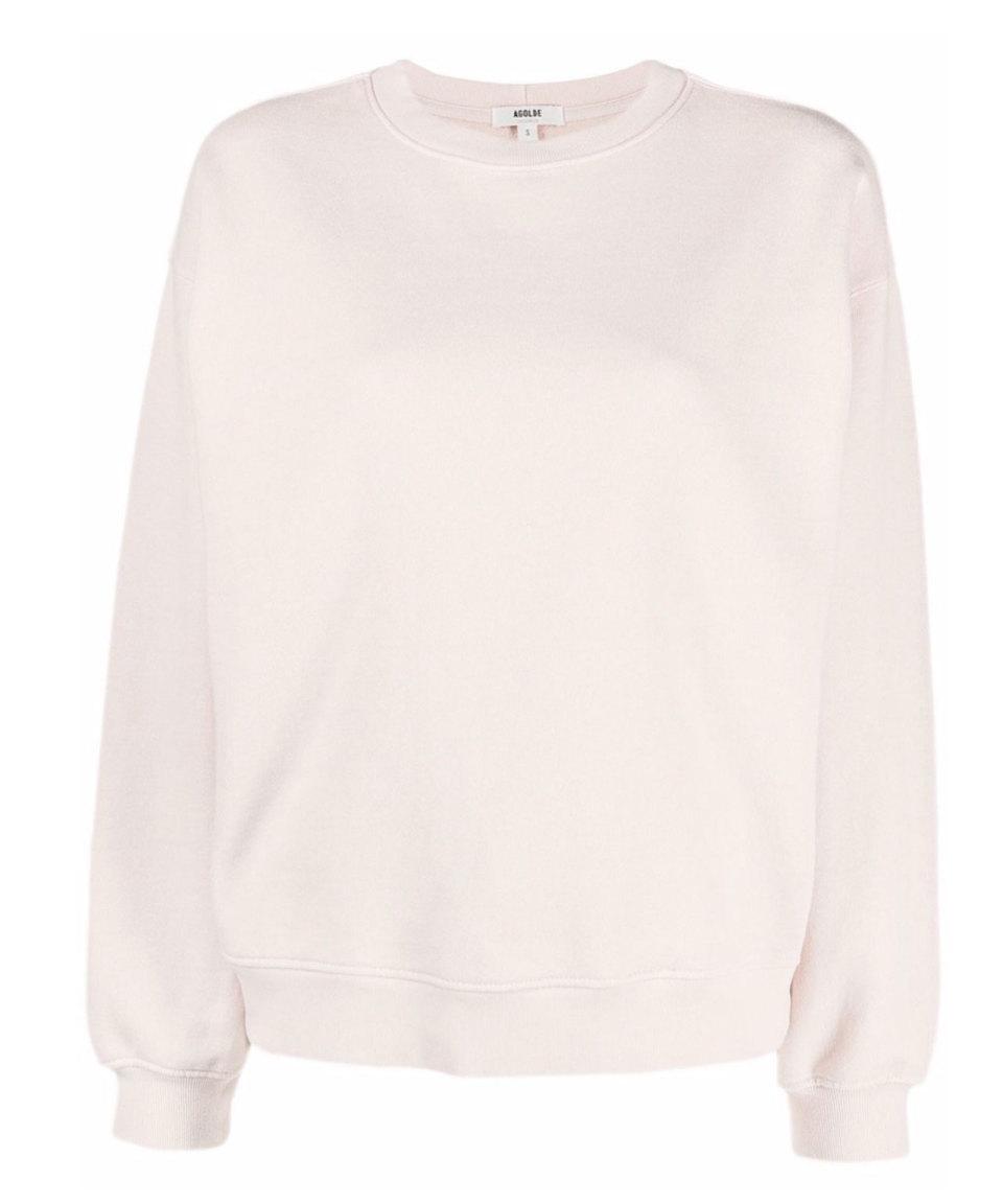 AGOLDE Cremefarbener Sweater