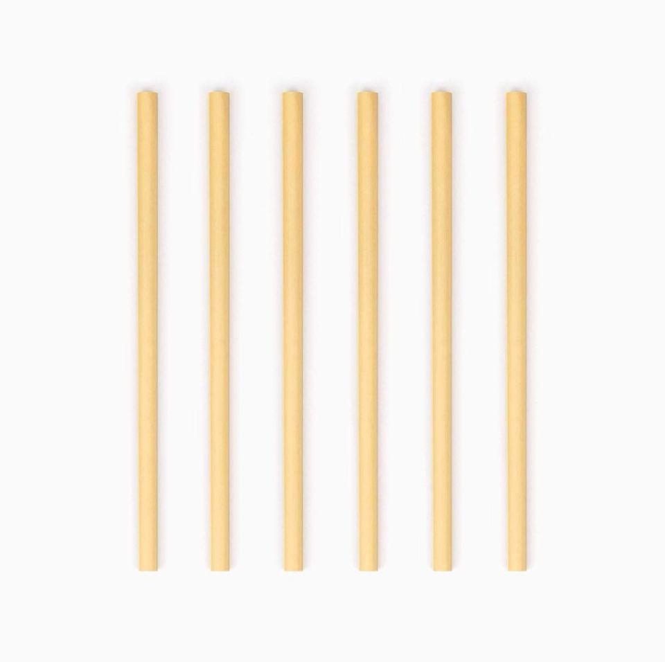 Bamboo Straw 6-pack
