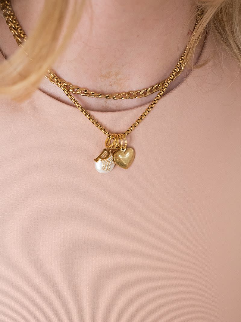 AMOR Charm (gold/silber)