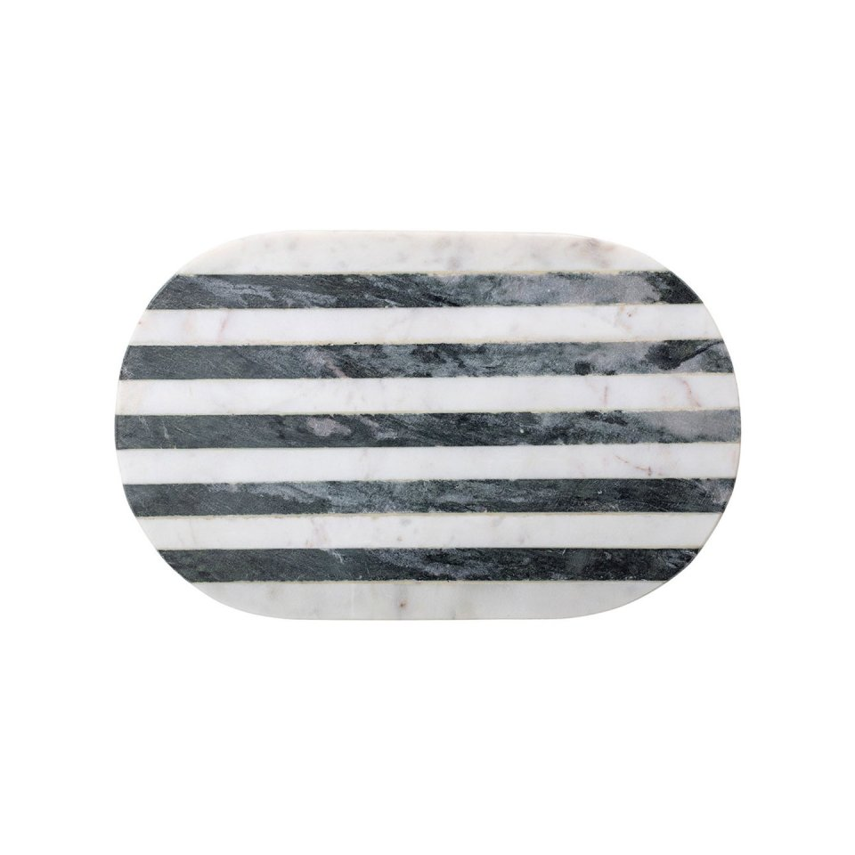 Schneidebrett Marmor Black & White