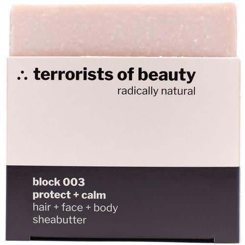 Terrorists of Beauty  Block 003 Protect & Calm