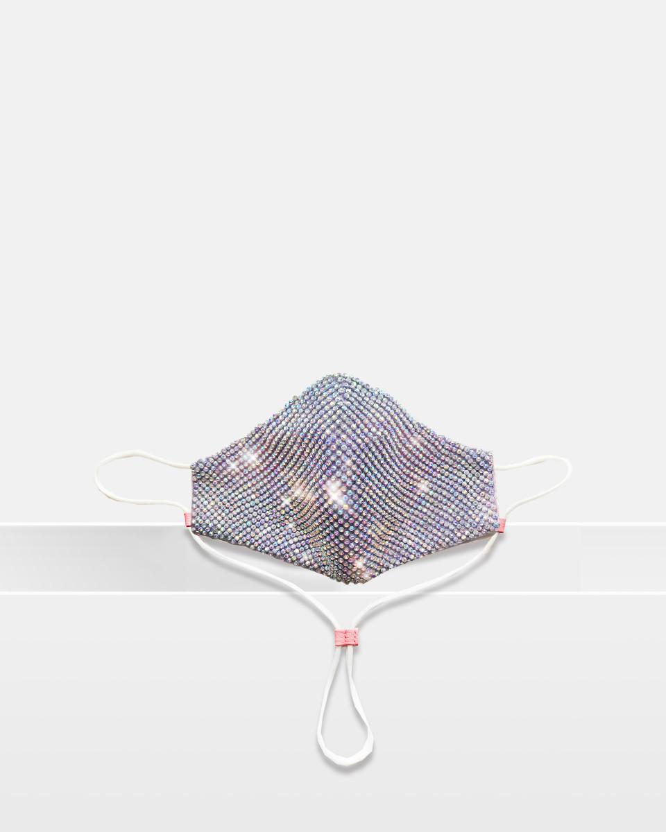 Fashion Mask - Rainbow Crystal