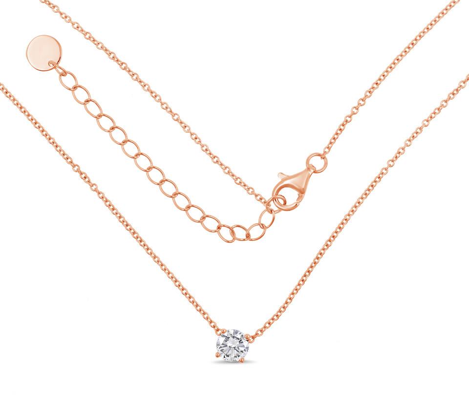 Necklace MILA Single - rose gold