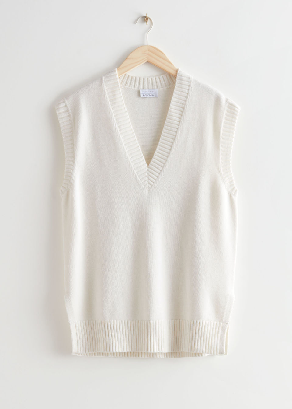 Oversized Knit Vest