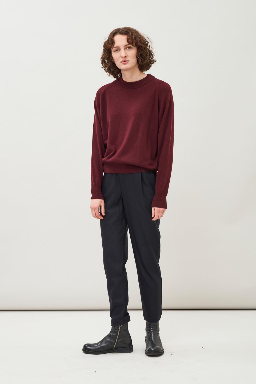 Vivi Raglan Sweater - Bordeux