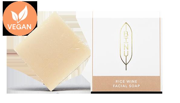 BINU Rice Wine Facial Soap
