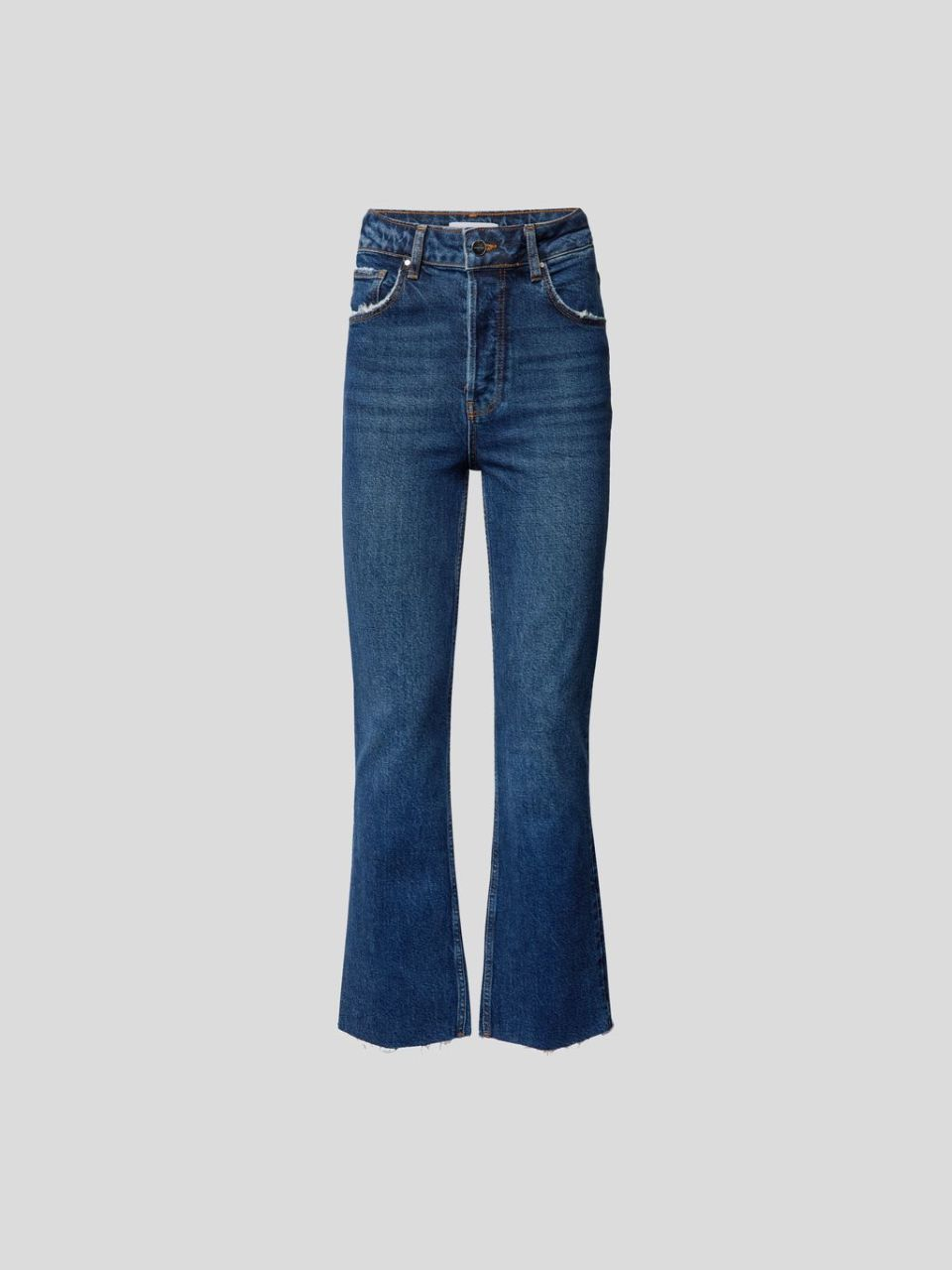 Ankle Flared Jeans