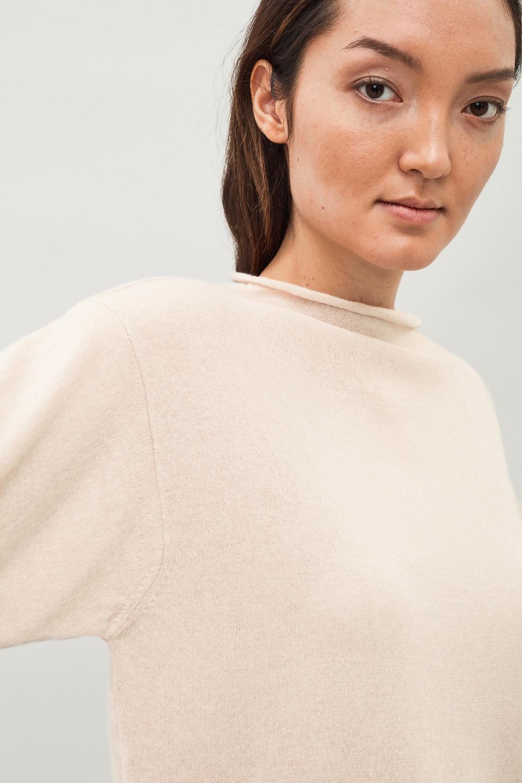 Kian Cashmere Sweater - Sand