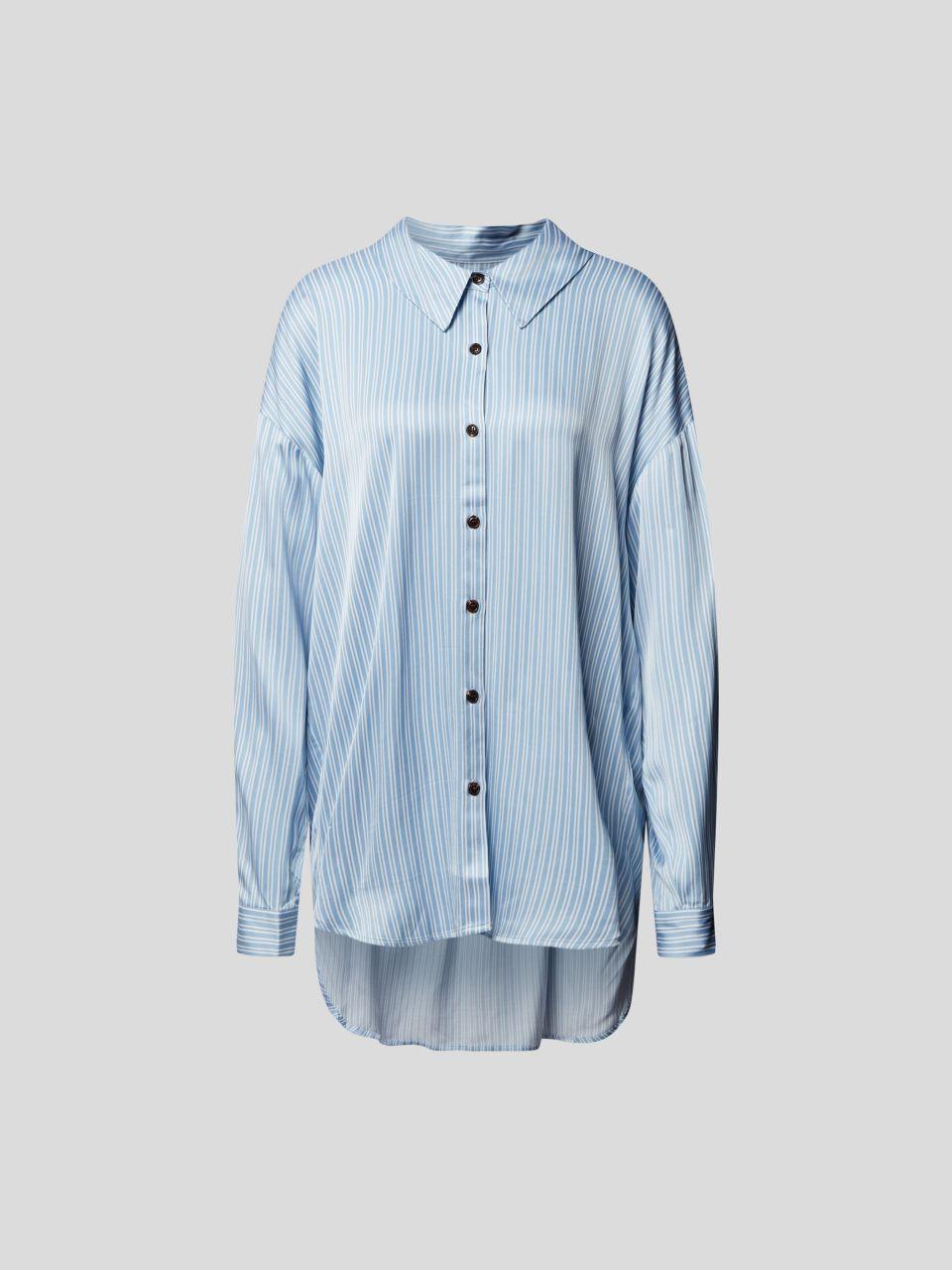 Bluse im Vokuhila-Stil