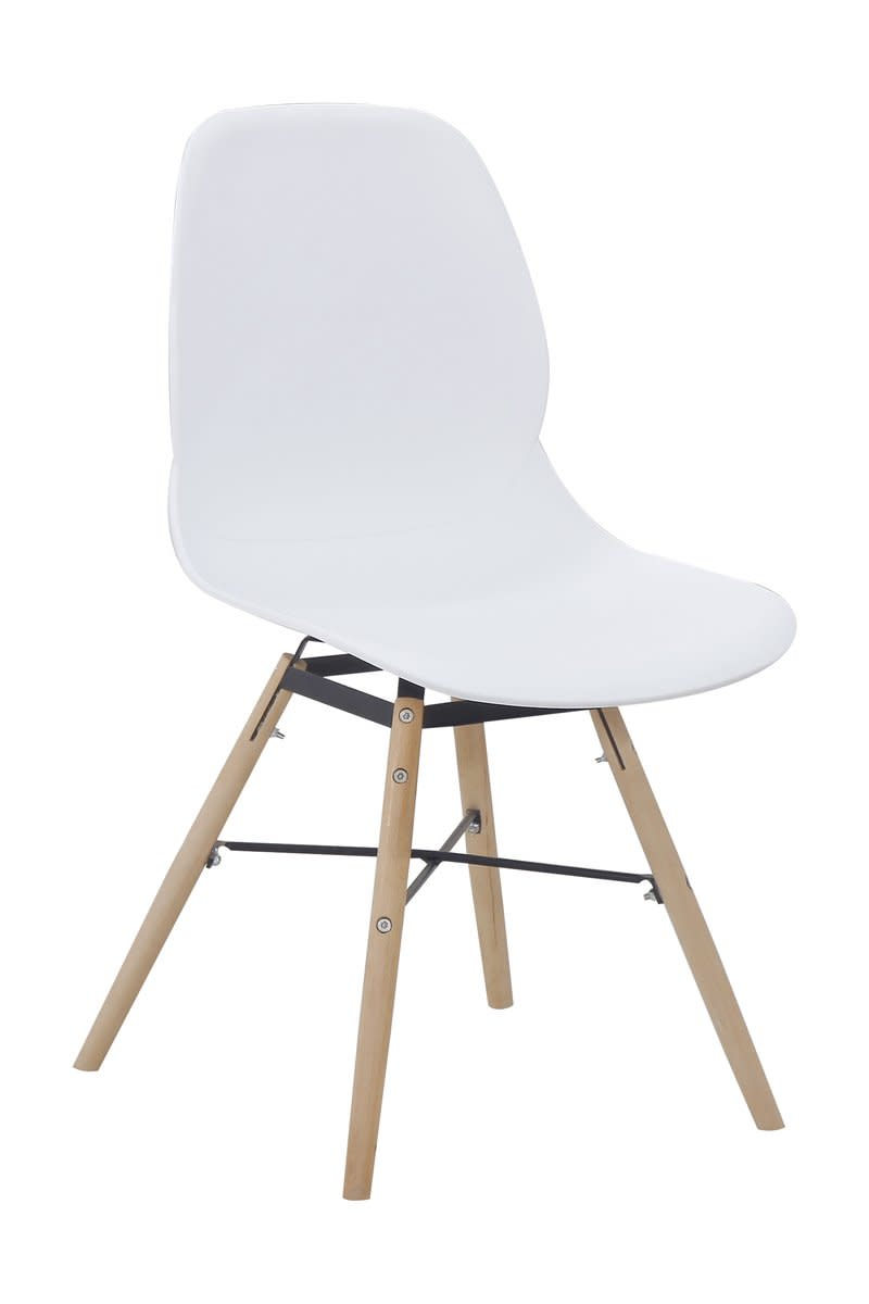 Stuhl Amy 110 2er-Set Weiß