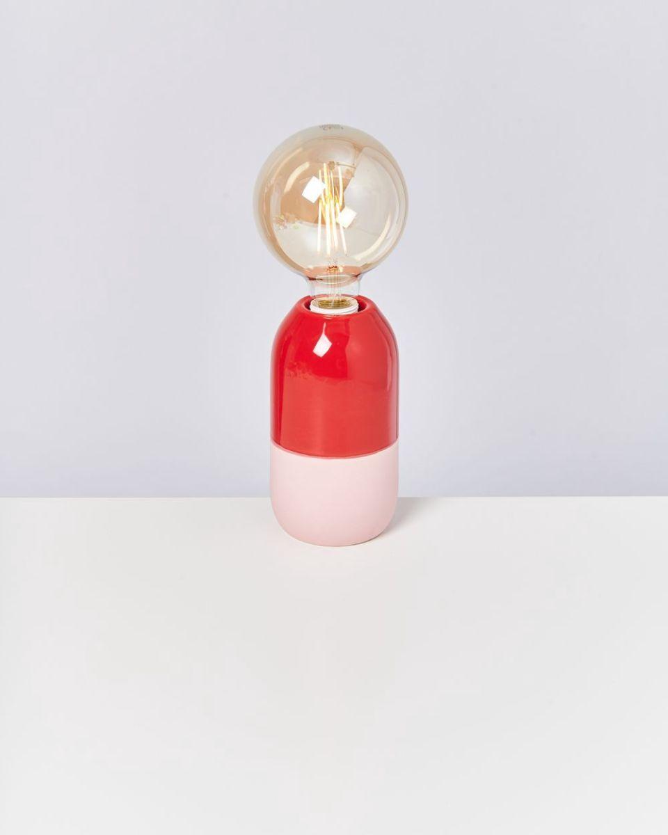 FAROL - Lamp red rose