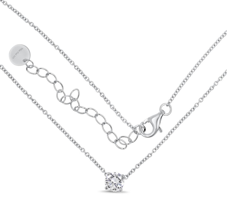 Necklace MILA Single - silver