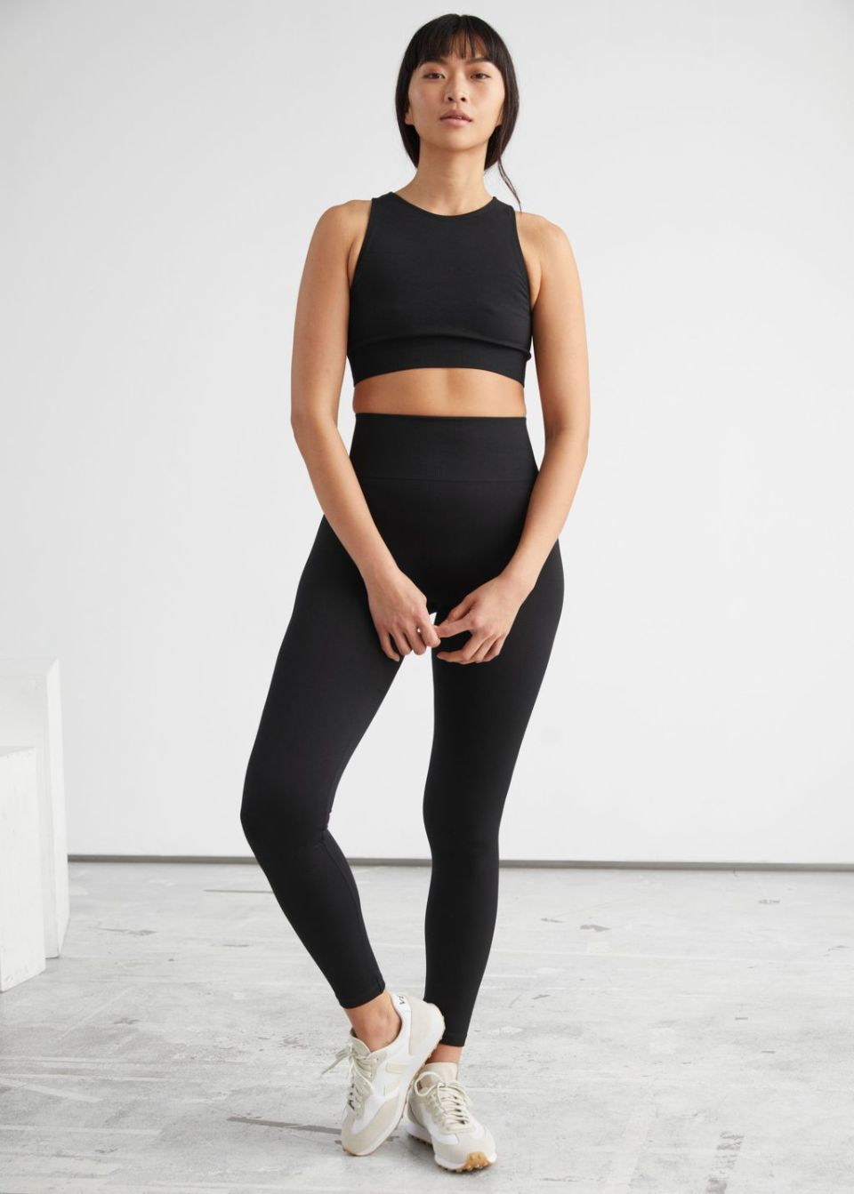 Quick-Dry Seamless Yoga Tights