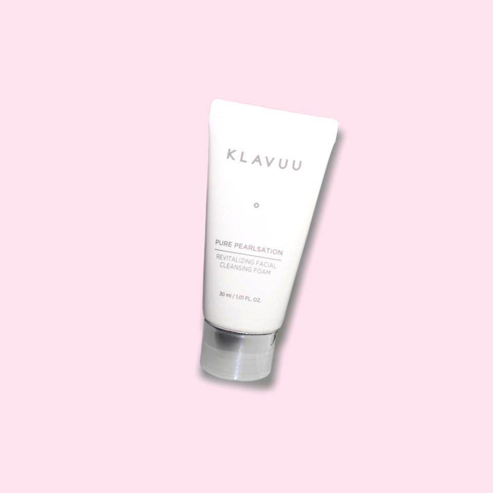 KLAVUU Pure Pearlsation Revitalizing Facial Cleansing Foam Mini