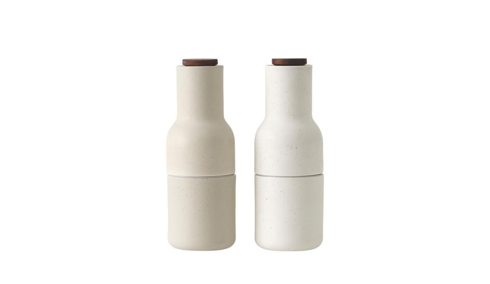 Menu Bottle Salz- und Pfeffermühle | Keramik