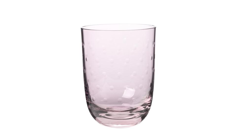 Louise Roe Crystal Soda Glas | Rose