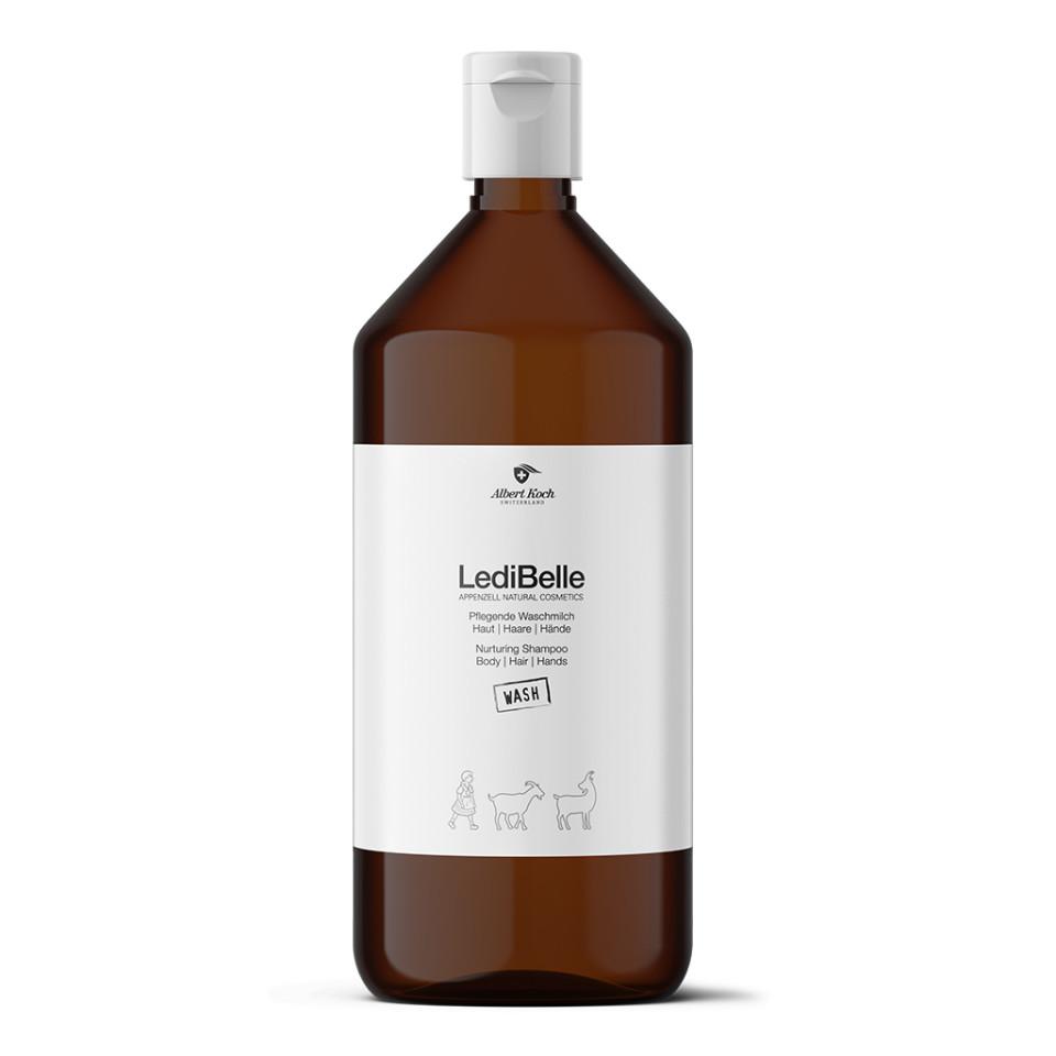 Pflegende Waschmilch Haut I Haare I Hände 1000 ml